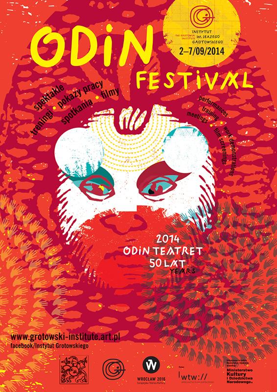 Plakat Odin Festival 2014