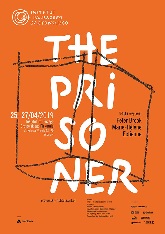 "Plakat ""The Prisoner"""